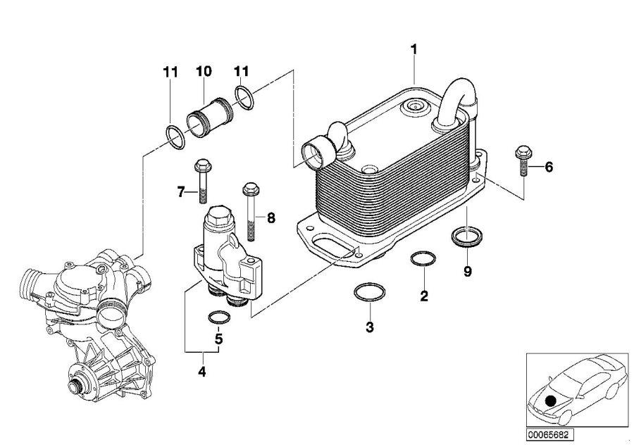 Bmw M5 Control Valve  Lubrication  Engine  System