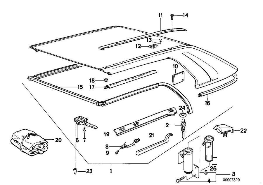 bmw 318i torx bolt  isa m6x16  trim  body  folding