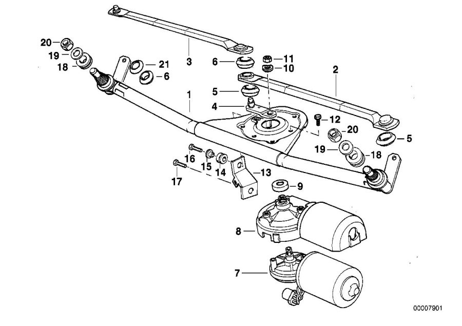bmw 328i parts diagram head
