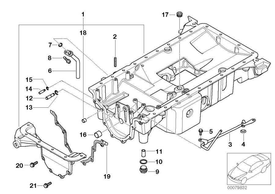 bmw alpina v8 oil pipe  engine  lubrication  system