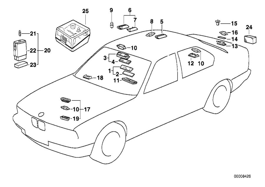 Free 1992 525i Bmw Diagram For Engine Parts