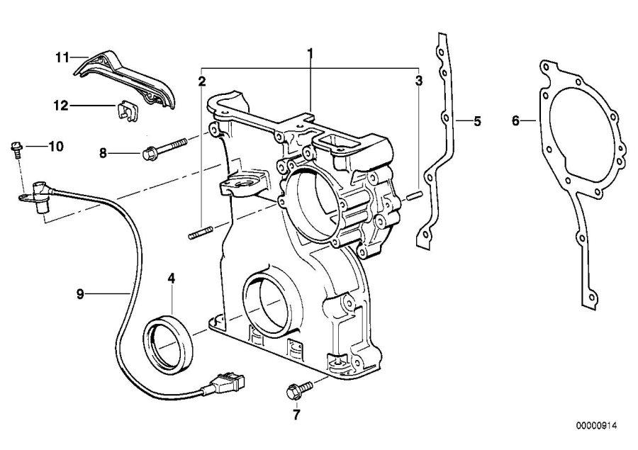 bmw 528i hex bolt with washer  m6x60-z1  system  fuel  engine