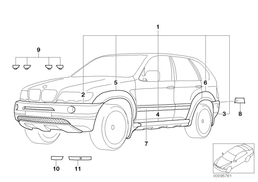 2001 Bmw X5 3 0i Parts Diagram on bmw 325i vacuum diagram