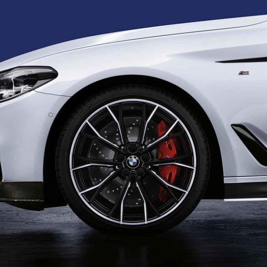 Bmw 550i M Performance Brake System  Red  Systems