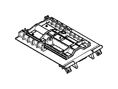 BMW    530i Center arm rest SCHWARZ    93    Equipment  Console
