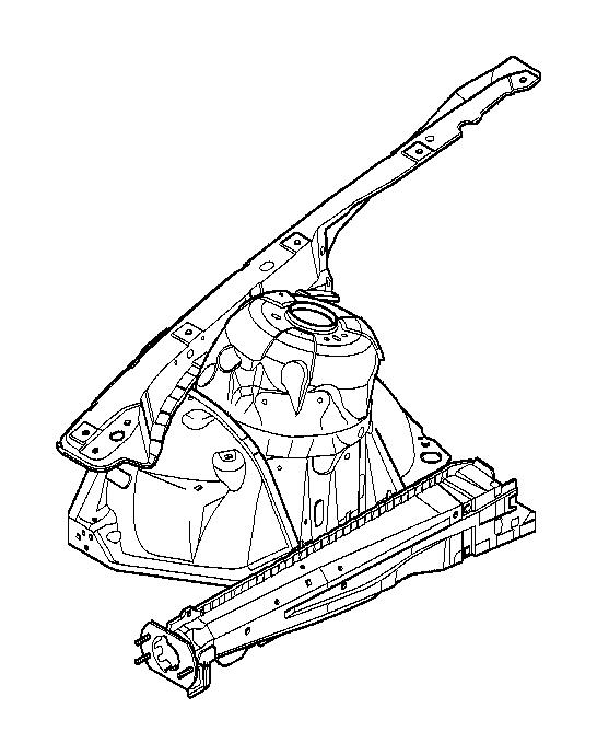 bmw 325ci front left wheelhouse  basis  body