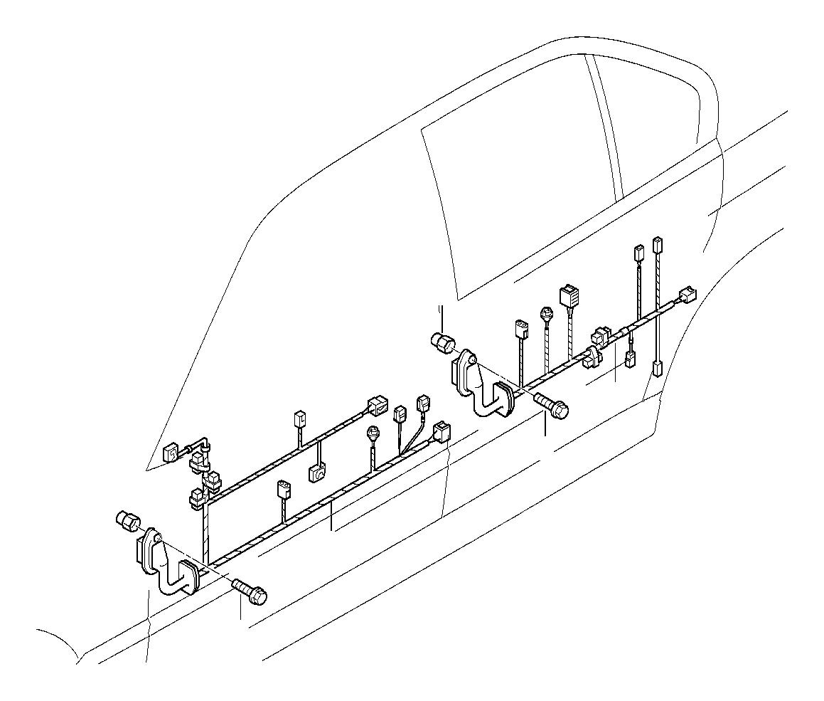61128369387 Bmw Adapter Wire F Airbag Module Bmw