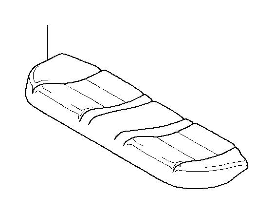 bmw m5 seat cover  leather  schwarz  rear  trim  cushion
