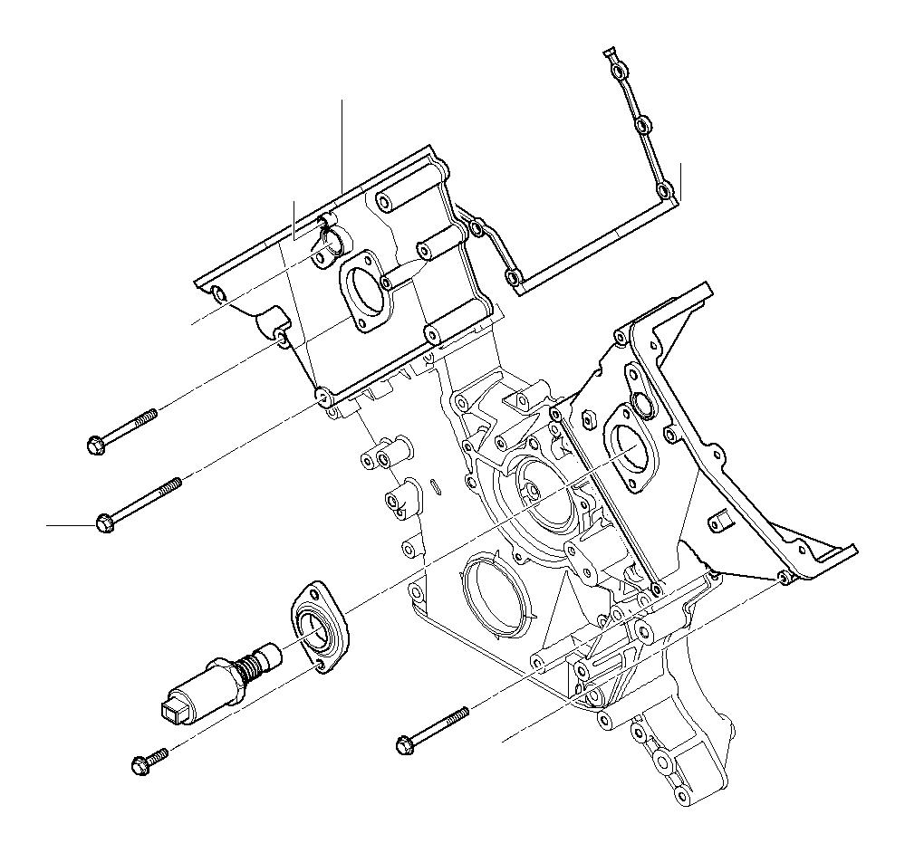 bmw 540ip hex bolt with washer  m6x65-z1  engine  control  clutch