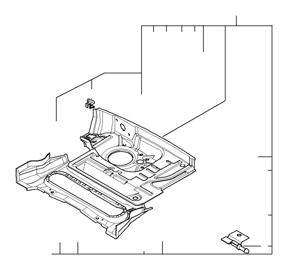 Bmw Z3 Body Panels: BMW Z3 Right Rear Side Member. Body - 41118398700