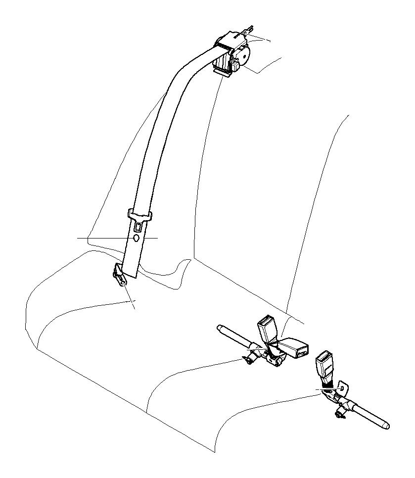 bmw 328xi lower belt  rear left  safety  electrical  system  seatbelts