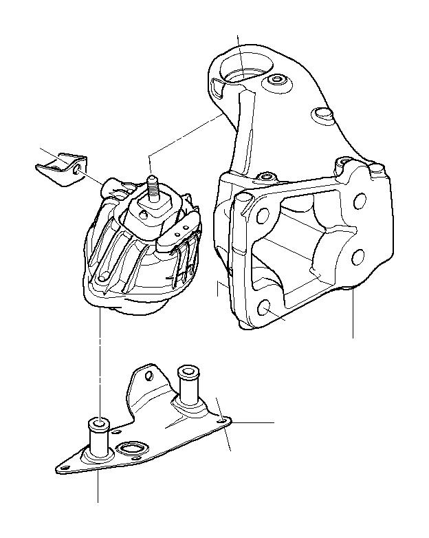 bmw 335d support bracket  engine  suspension  transmission