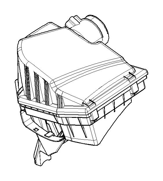 bmw 528xi hot-film air mass meter  intake  fuel  system