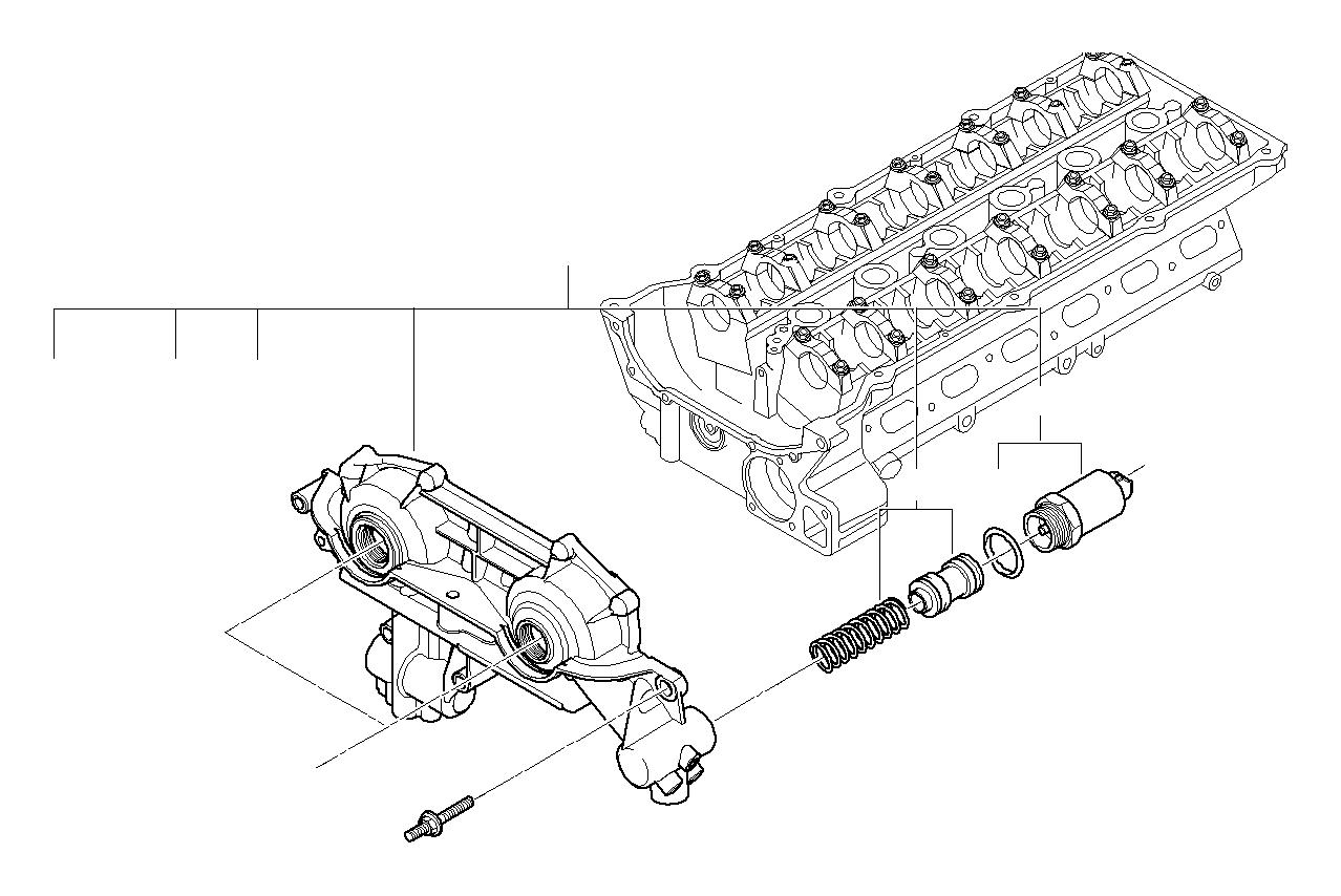 Bmw X5 Fit Bolt Head Cylinder 11361748745 Bmw