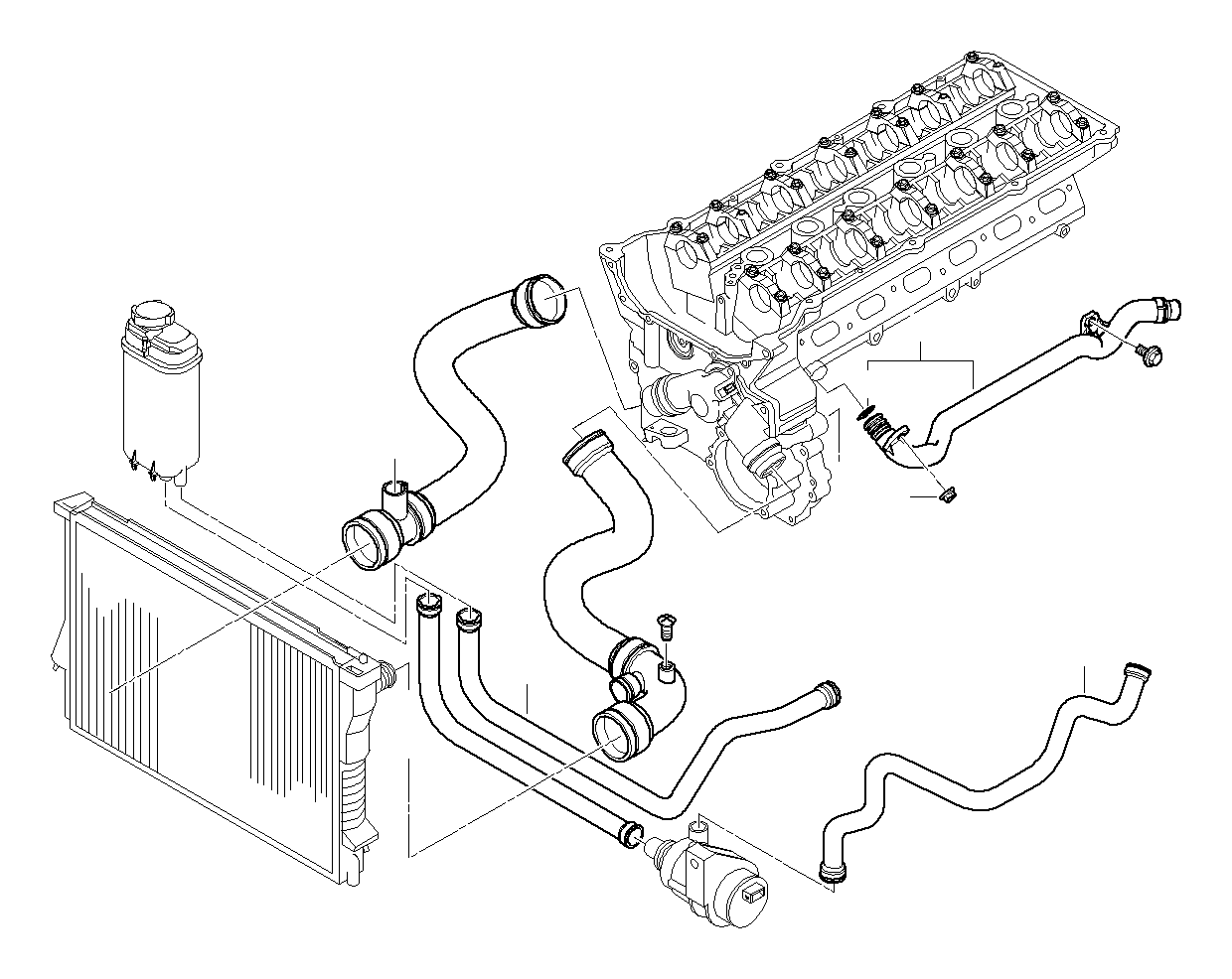 bmw 525i water hose diagram great installation of wiring diagram 1999 BMW 318Ti bmw 528i water hose autom 11531438634 bmw northwest bmw coolant hose diagram 2004 bmw 325i hose