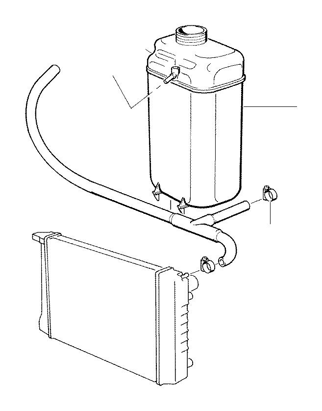 bmw 740ilp vent hose  cooling  alpina  expansion