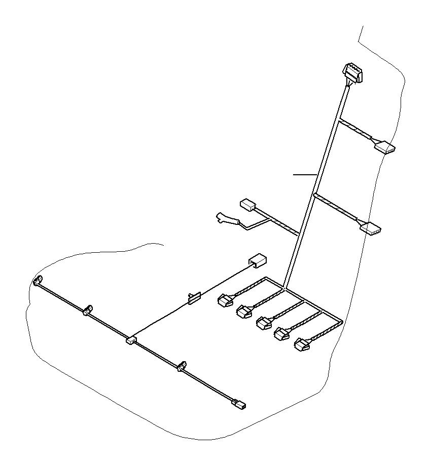 bmw x6 cable set  seat motors  driver u0026 39 s side