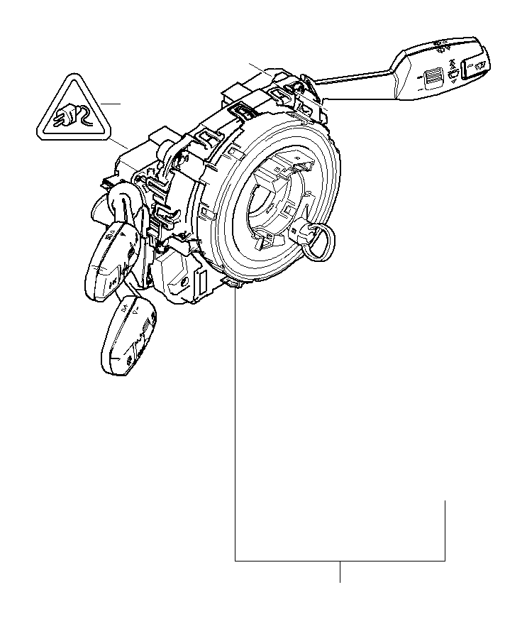 bmw 323i switch cluster steering column