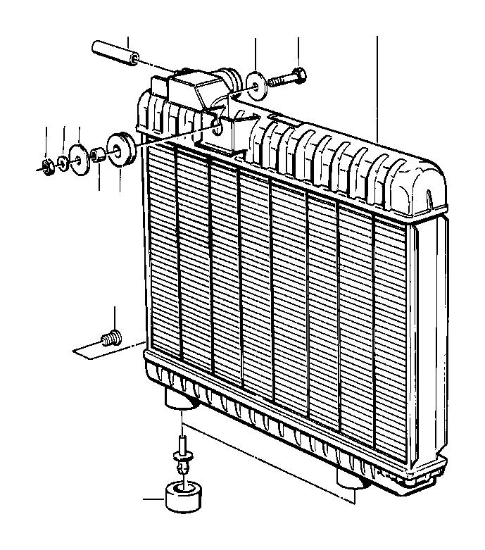 bmw 735il drain plug radiator  m10