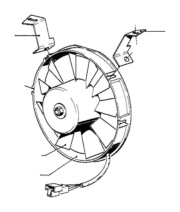 bmw 320i fan wheel  air  conditioning  condenser