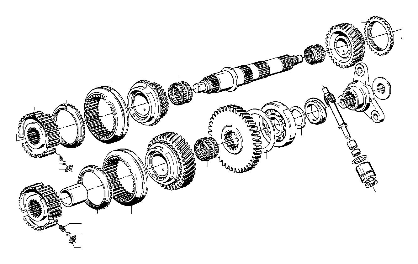 bmw 320i spacer  56x72x0  3  getrag  transmission  zyl