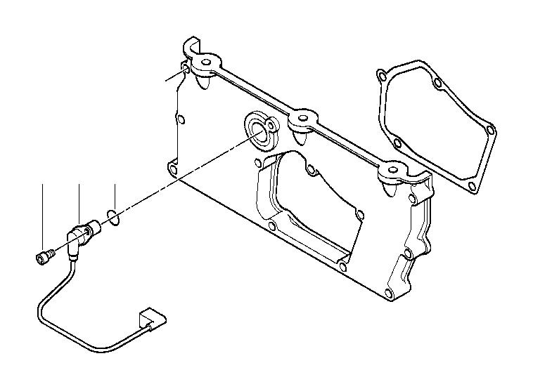 bmw 760i fillister head screw  m6x16  engine  alpina  mounting