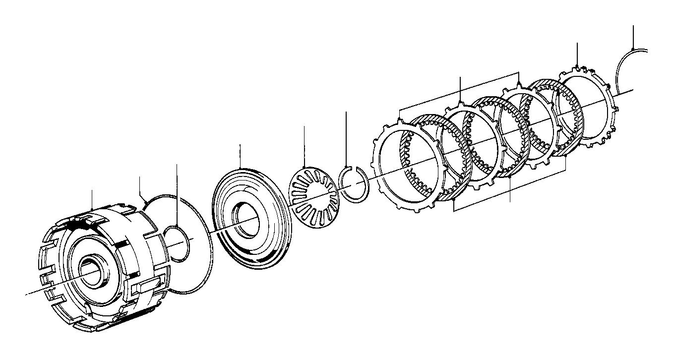 bmw 635csi clutch disc  brake  transmission