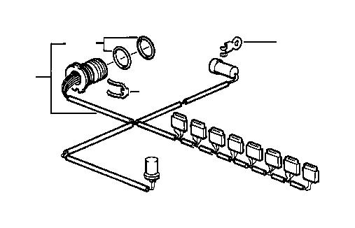 bmw 323ci o-ring  control  unit  transmission