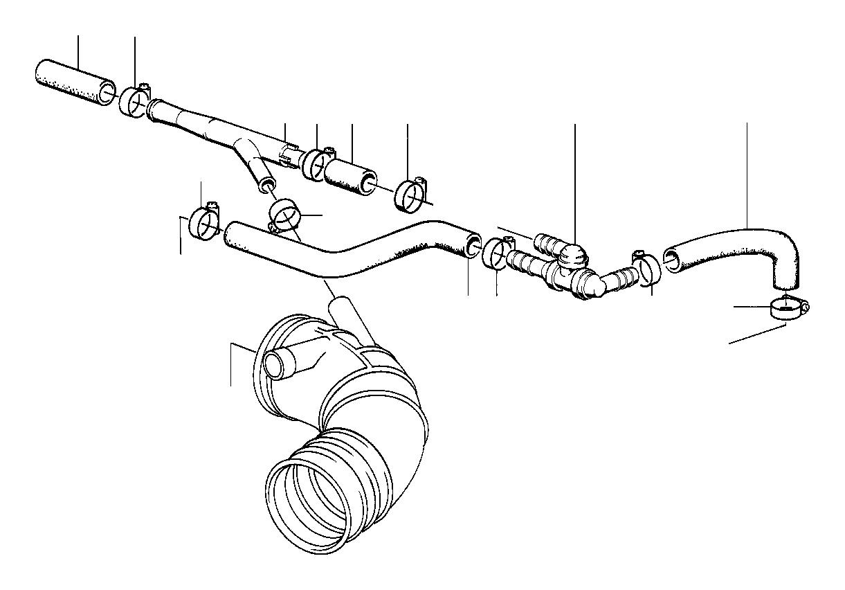 bmw 318i non-return valve  depression