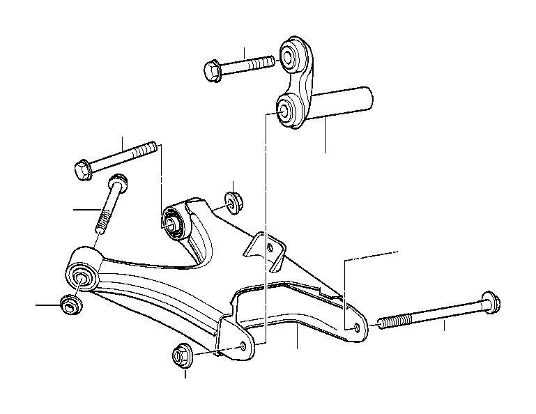 bmw 650i integral link  suspension  rear  axle