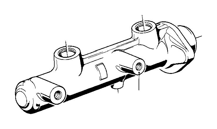 bmw 533i brake master cylinder  23  81mm ate  brakes