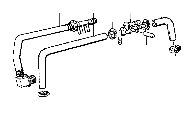 bmw 325ix non-return valve  engine  vacuum  brake