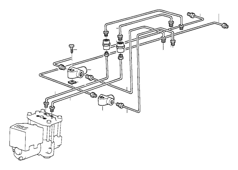 bmw 318i pipe  m10  m10