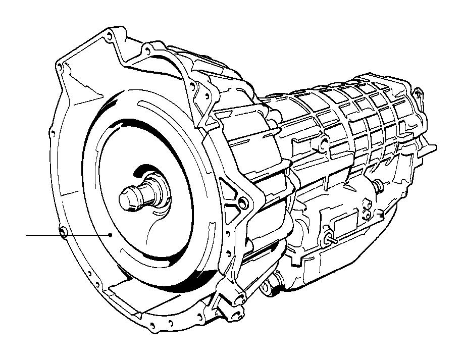 bmw 318i torque converter  transmission