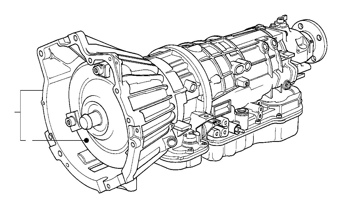bmw 318i torque converter  a4s 310r  transmission