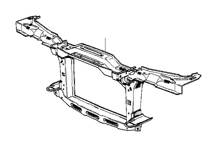 bmw 325ix front panel  basis  body
