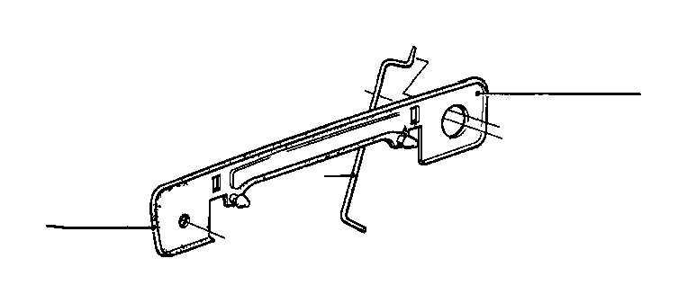 bmw 635csi handle padding right  front  door