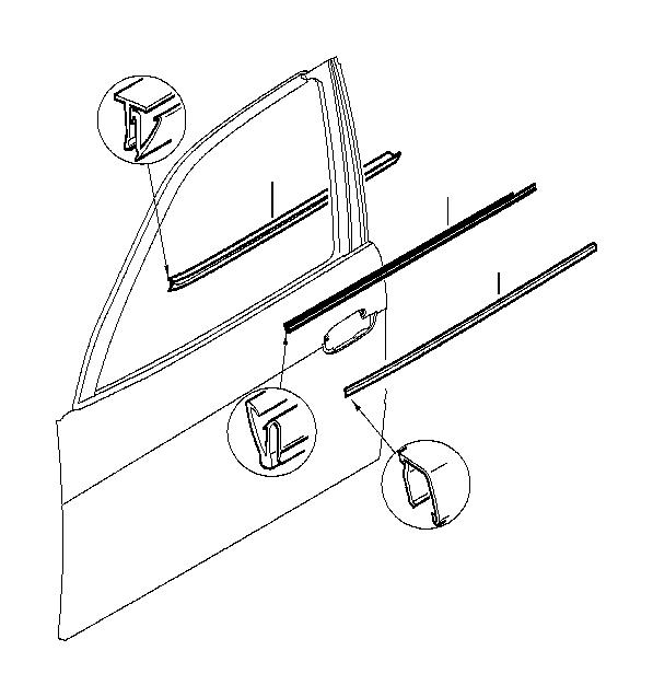 bmw 540ip front door seal