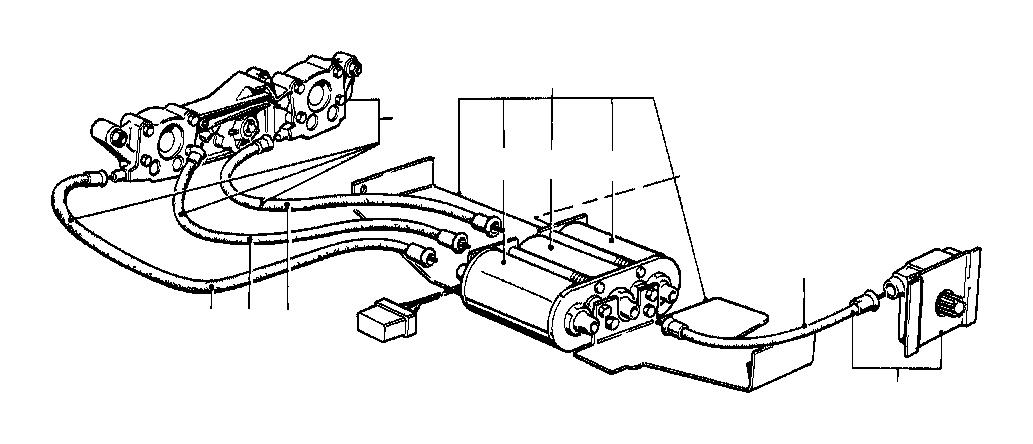 bmw 635csi actuator horizontal adjustement  seat  front