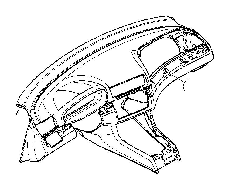 Bmw 325xi Trim Panel Dashboard  Mounting  Instrument