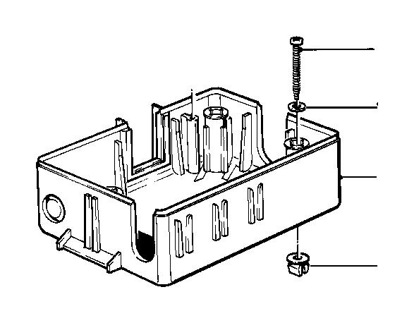 bmw 733i wiring box  fuse
