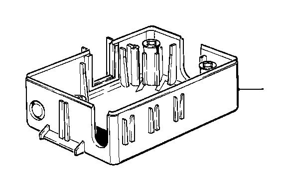 bmw 524td wiring box  fuse