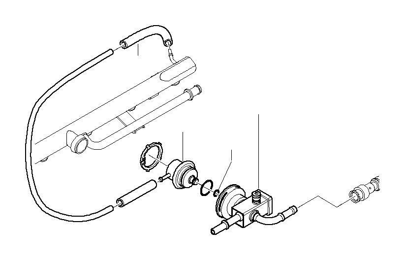 Bmw M3 Housing Pressure Regulator Fuel System Supply