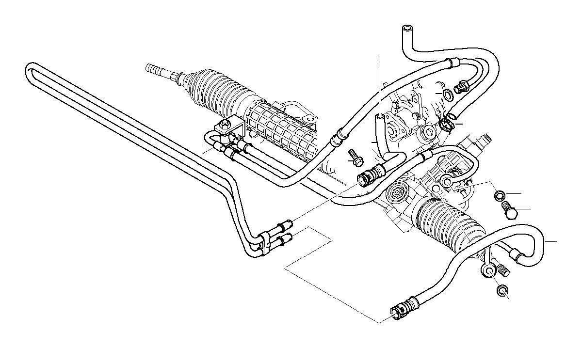 bmw 325ci radiator return line