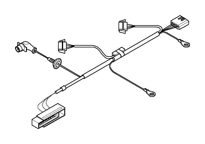 Bmw X3 30i Wiring Set Trailer Coupling  Cable