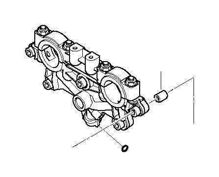 bmw 740i gasket ring  8  1x3  5x7  7  timing  engine  head