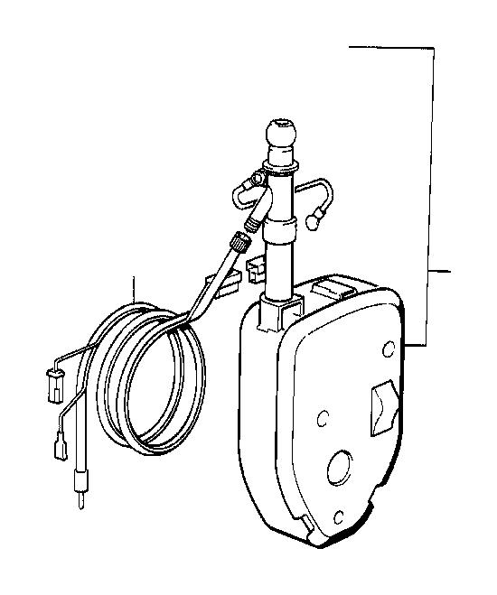 bmw 633csi wiring rear  5400mm  antenna  electrical  system