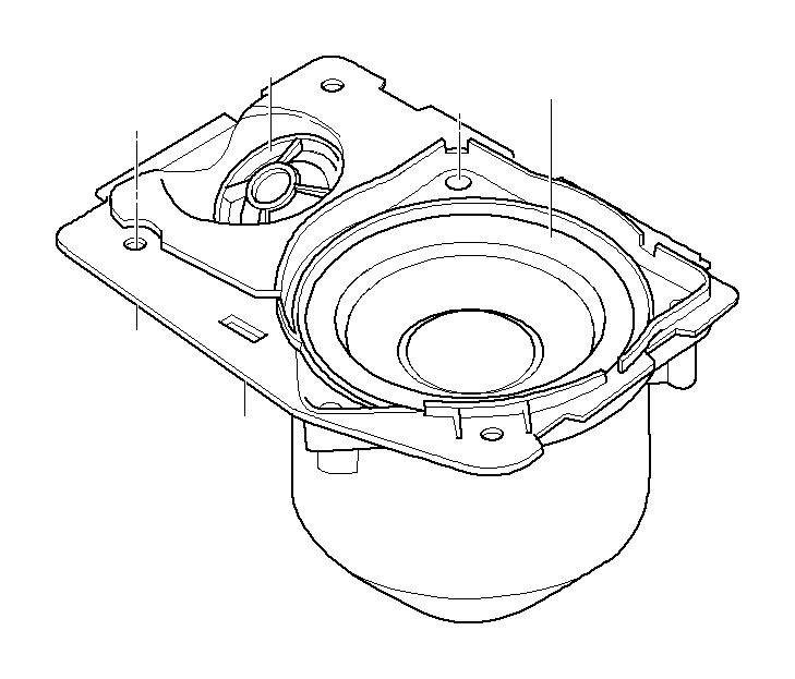 Bmw Alpina B7 Loudspeaker Box  Left  Stereo