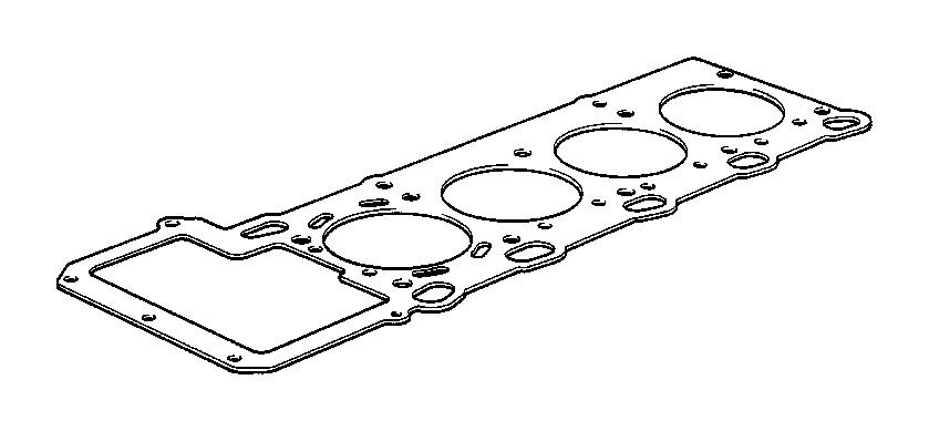 bmw m coupe cylinder head gasket asbestos-free  1  215mm  engine  coup u00e9  attached