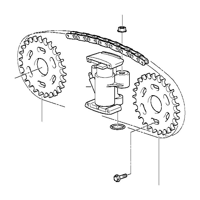 bmw 740i chain tensioner  zyl 1